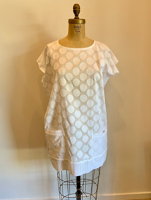 Carol Lee Shanks Cotton Linen Tunic