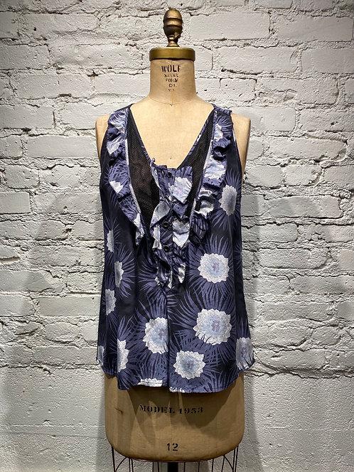 Proenza Schouler Print Silk Blouse