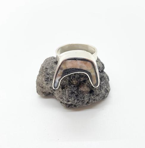 Sea Pony Ocean Jasper Ring
