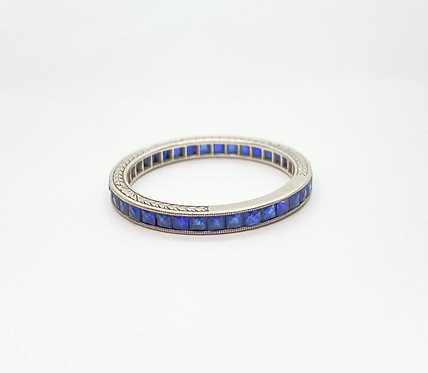 Vintage Chanel Cut Sapphires Ring