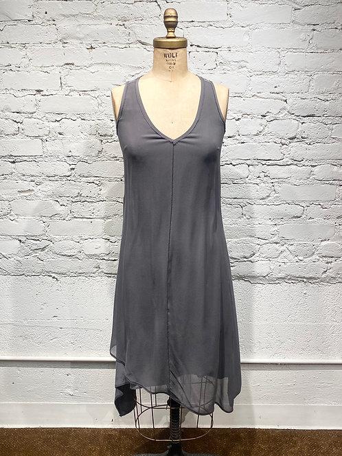 Go Silk Sleeveless Silk Dress