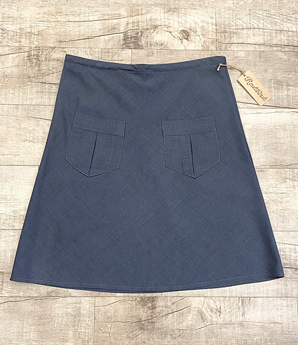 Erica Tanov Wool Pocket Skirt