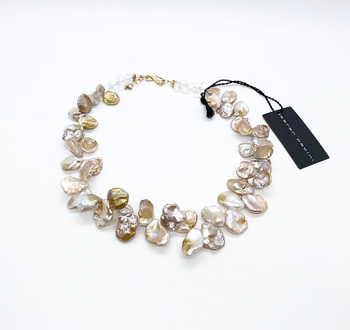 Sarah Pacini Baroque Pearl Necklace