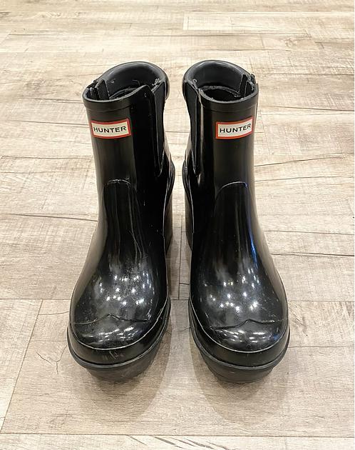 Hunter Heel Rain Boots