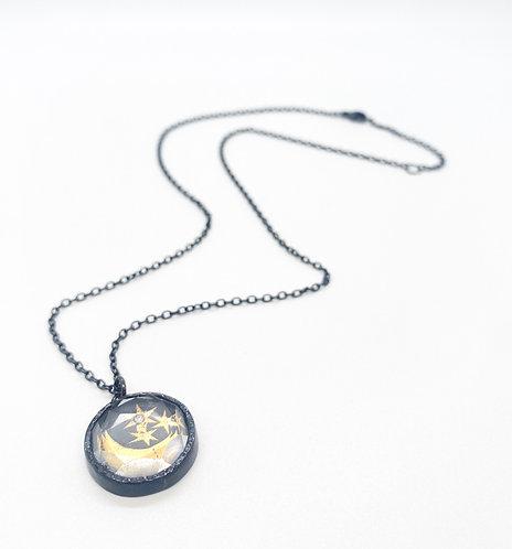 Acanthus Celestial Sky Talisman Necklace