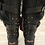 Thumbnail: Mou Fur Leather Studded Buckle Boot