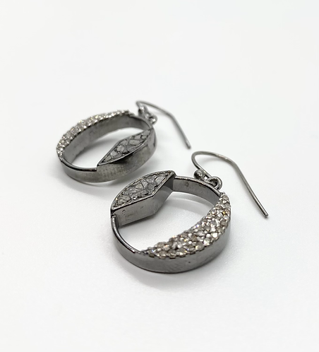 Shana Gulati Tonsa Sliced Diamond Earrings