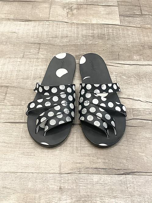 Marsel Polka Dot Sandals