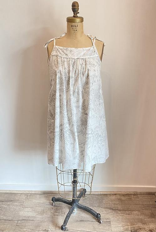 Loup Charmant Print Cotton Dress