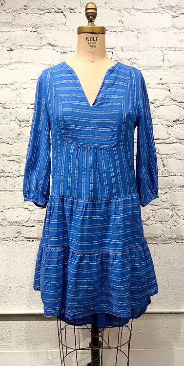 Velvet Dress with Slip
