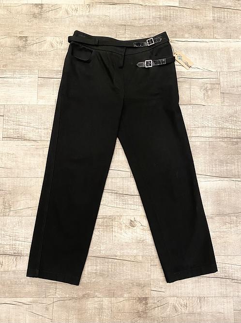 Chanel Double Belt Crop Pants