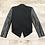 Thumbnail: Helmut Lang Leather Sleeves Jacket