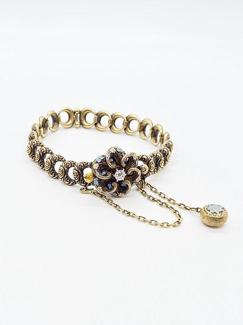 """Victorian 1889 """"Forget me not"""" Bracelet"""