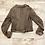 Thumbnail: Blur Distressed Leather Jacket