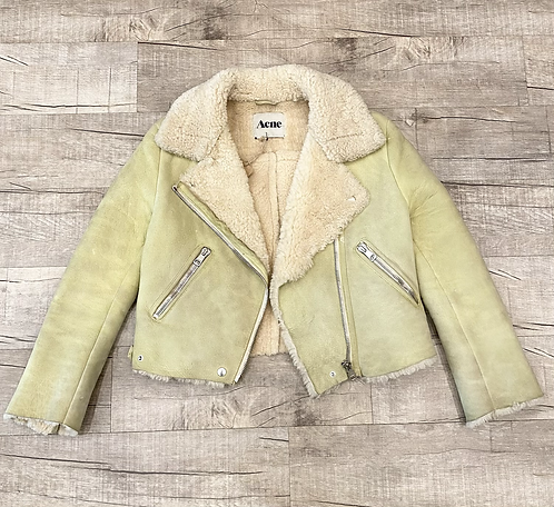 Acne Shearling Suede Jacket