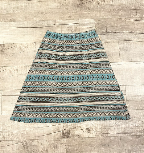 Erica Tanov Cotton Knit Skirt