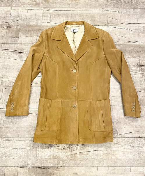 Vintage Bally Suede Coat
