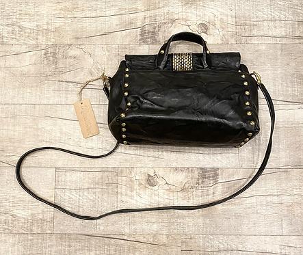 Calleen Cordero Studded Leather Crossbody Purse