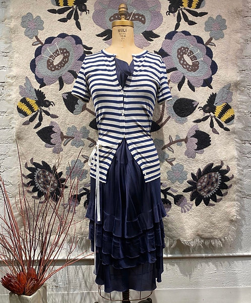 Sacai Stripe Dress