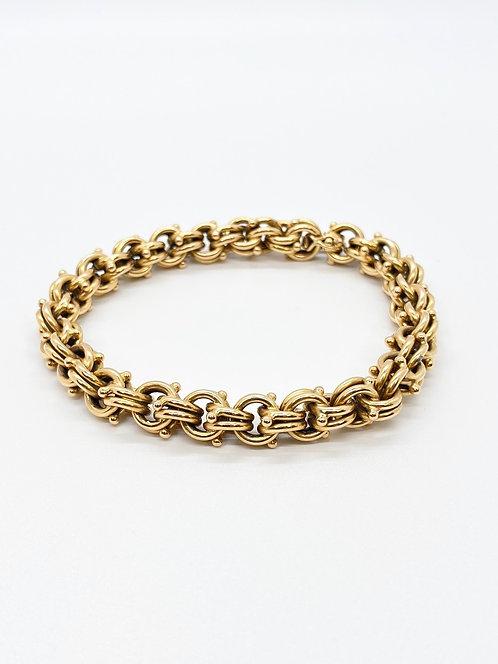 1940s Chain Link Bracelet