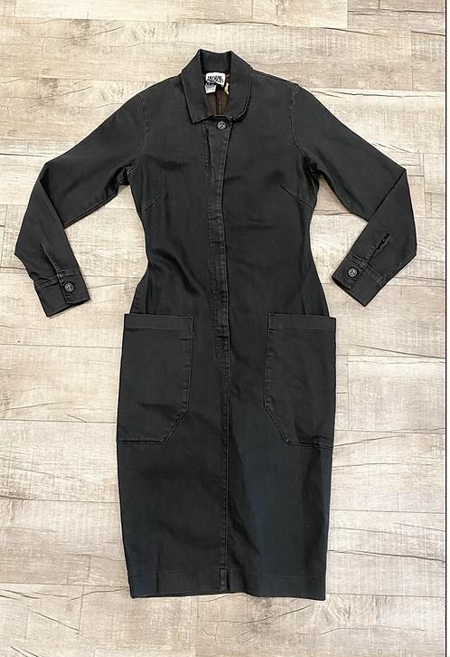 Prairie Underground Zipper Front Cotton Dress