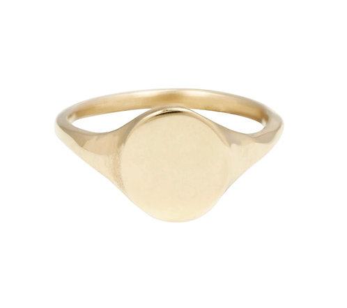 Erin Cuff Mesa Signet Ring
