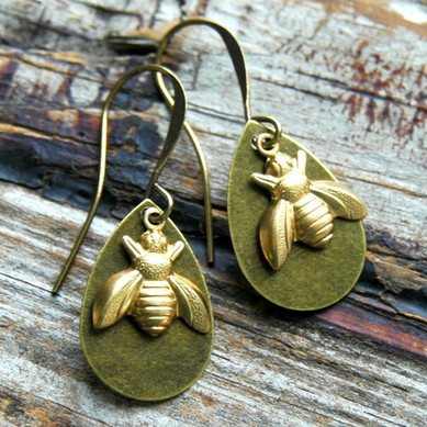 bee earrings