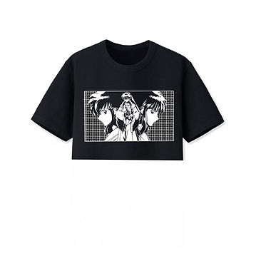 Inuyasha Trio Crop Short Sleeve