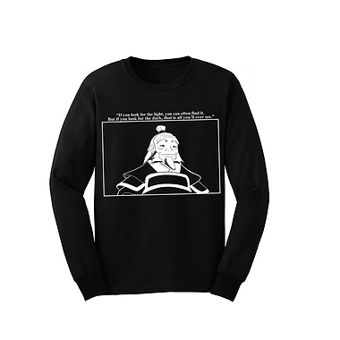 Uncle Iroh Long Sleeve