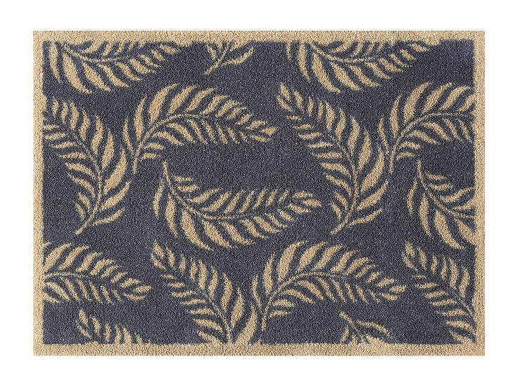 Medium Leaf scroll Turtle mat door mat