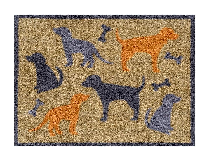 Medium Dog and bone Turtle mat door mat