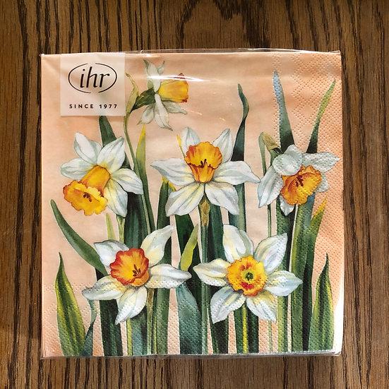 Napkin daffodils