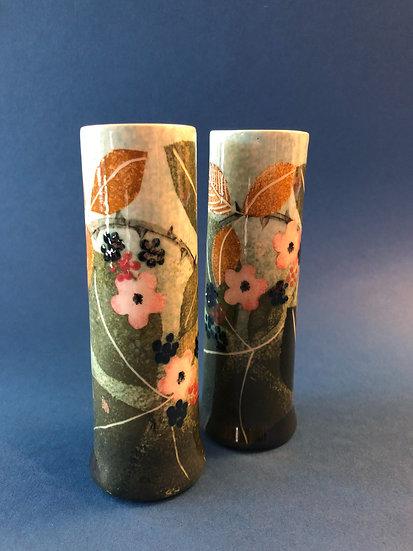 Ralph Jandrell small bramble cylinder vase