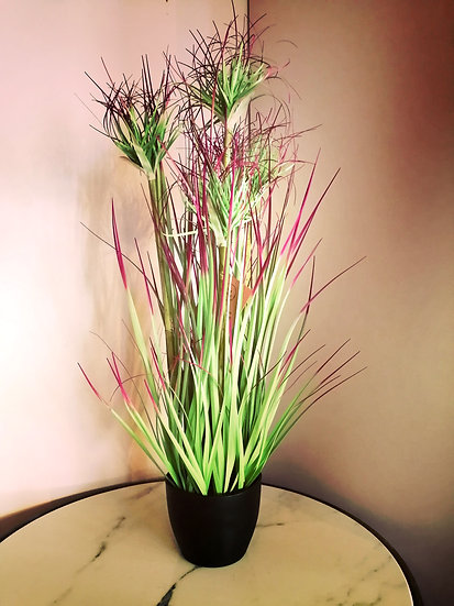 Faux small water bamboo grass
