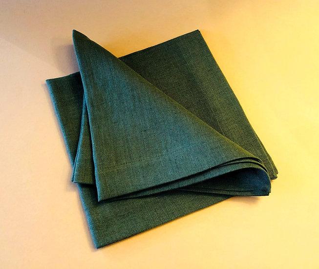 Moss green Linen napkin