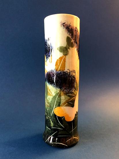 Ralph Jandrell Buddleia cylinder vase
