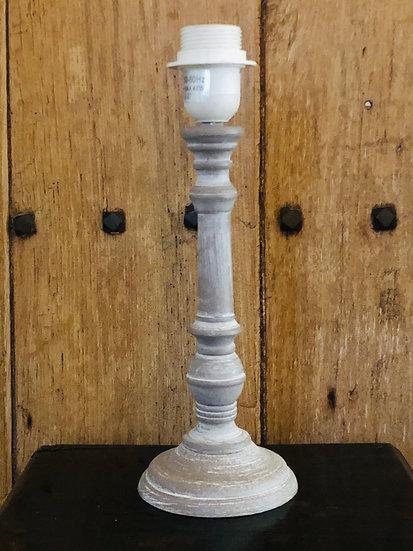 Lucerna brushed grey lamp base