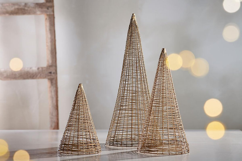 Ngoni gold wire Christmas tree