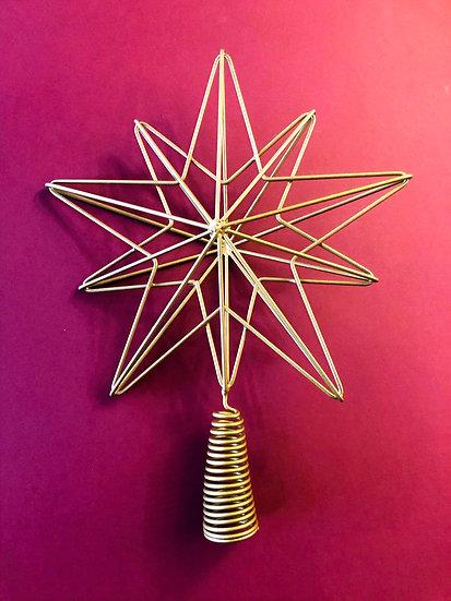 Talini star tree topper