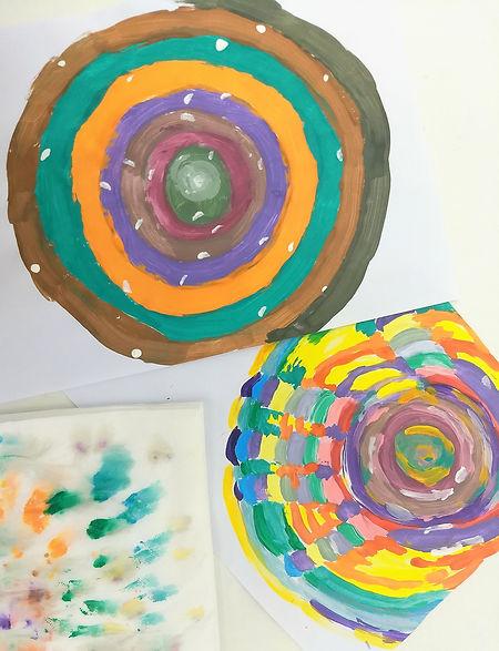 טיפול רגשי לילדים, צבעי גואש