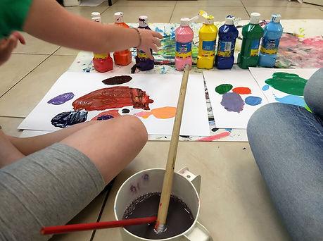 טיפול רגשי לילדים, באמצעות ציור