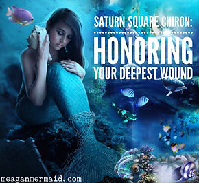 Saturn Square Chiron: Honoring Your Deepest Wound