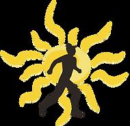guy running, runner, runner sillhouette