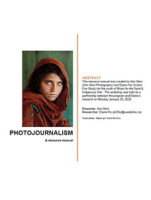 Screenshot - photojournalism manual MFTS