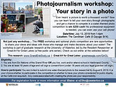 Screenshot - Photojournalism email flyer