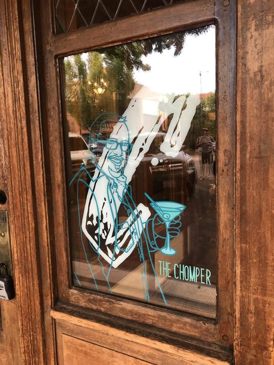CHOMP CHOMP WINDOW GRAPHICS