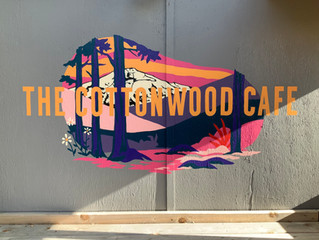 Cottonwood Cafe Patio Sign