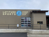 LATITUDE 44 SPORTS LARGE EXTERIOR WALL SIGN