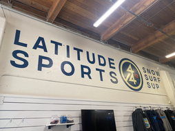 LATITUDE 44 SPORTS LARGE INTERIOR WALL SIGN