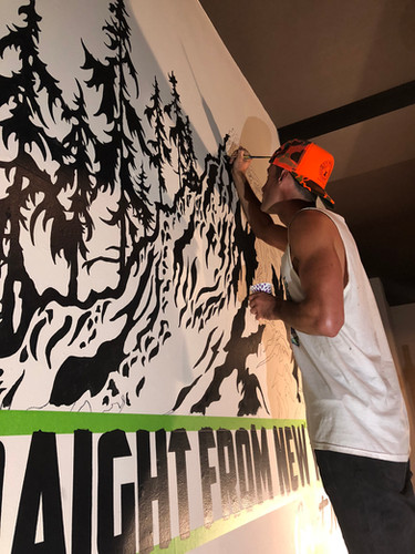 ARTIST JOSH RAMP HAWTHORNE